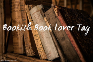 Bookish Book Lover Tag